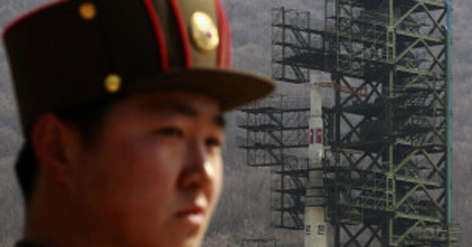 12.dez.2012 - Coreia do Norte lançou foguete na manhã desta quarta-feira