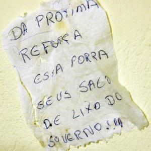Bilhete deixado por presos durante fuga faz provocação ao governo da Bahia