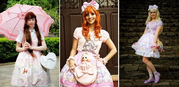 Meninas Lolitas são aquelas que se vestem feito bonecas
