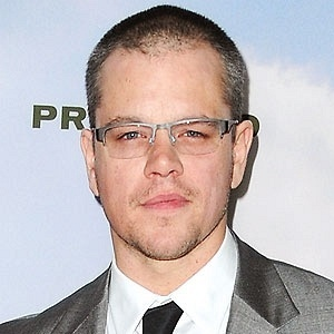 13.dez.2012 - O ator Matt Damon