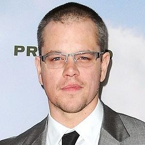 13.dez.2012 - O ator Matt Damon