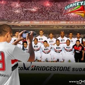 Corneta FC: Luís Fabiano manteve o foco na decisão