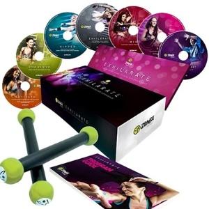 A coleção contém sete DVDs com ritmos internacionais e coreografias
