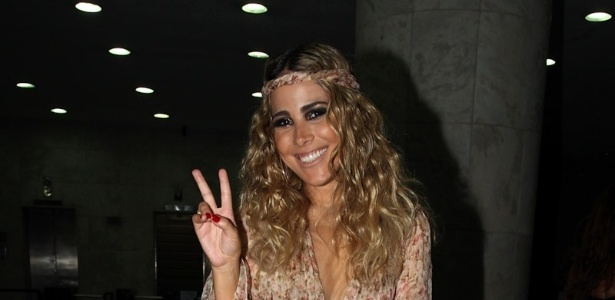 A cantora Wanessa chega a sua festa de 30 anos no clube Royal, em São Paulo (16/12/2012)