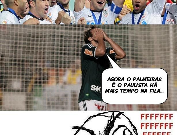 Corneta FC: A fila andou e agora o Palmeiras é o paulista há mais tempo sem título