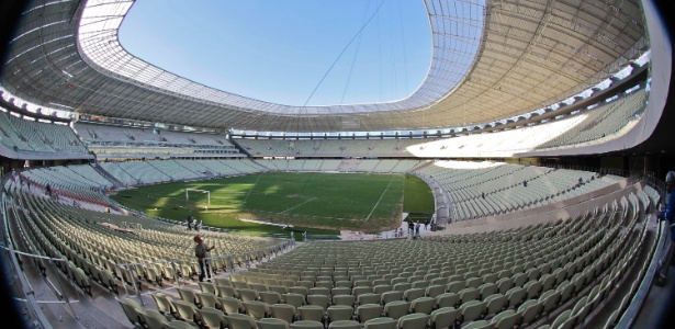 Arena Castelão está pronta: Prefeitura de Fortaleza promete conclusão de obras viárias no entorno até junho