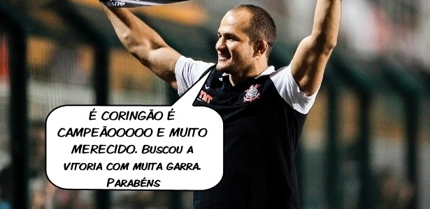 O lutador Jnior Cigano comenta a conquista do Mundial pelo Corinthians