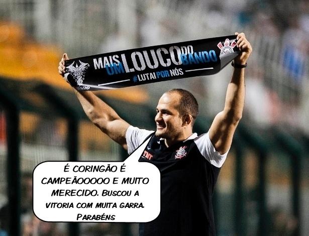 O lutador Júnior Cigano comenta a conquista do Mundial pelo Corinthians