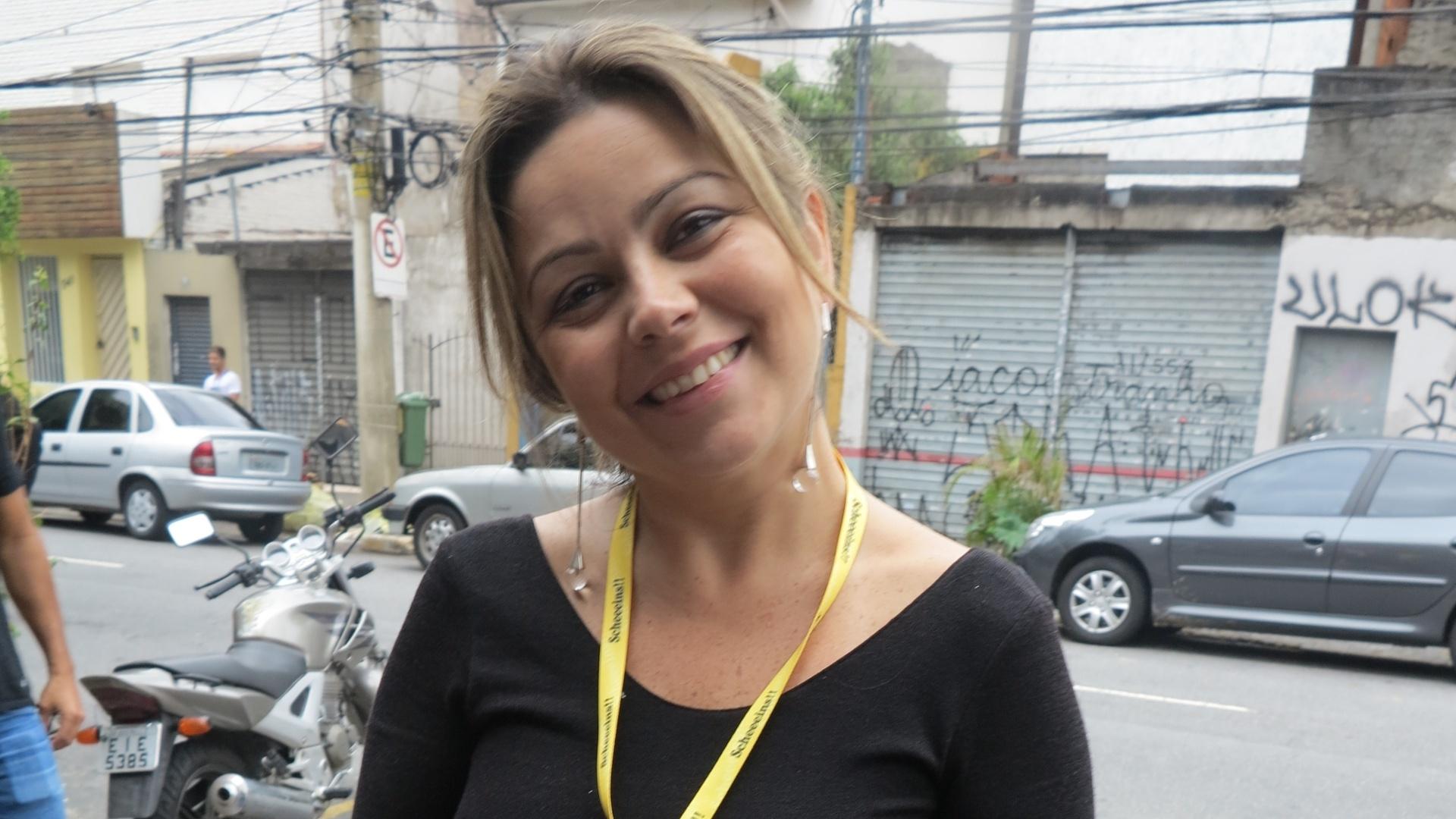 A advogada Juliana Xavier foi direto para o pub do Itaim após ficar a noite toda na balada