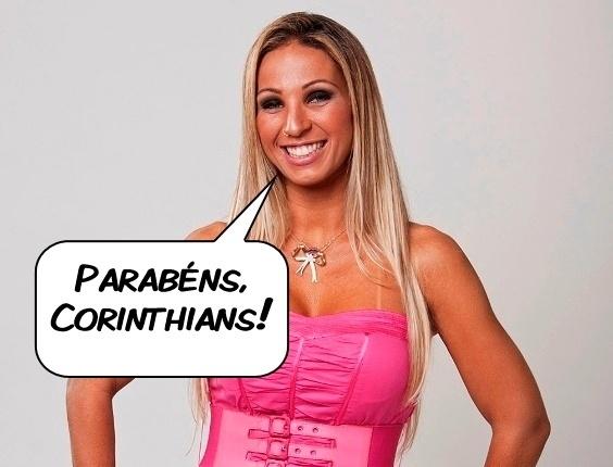 Valesca Popozuda comenta a conquista do Mundial pelo Corinthians