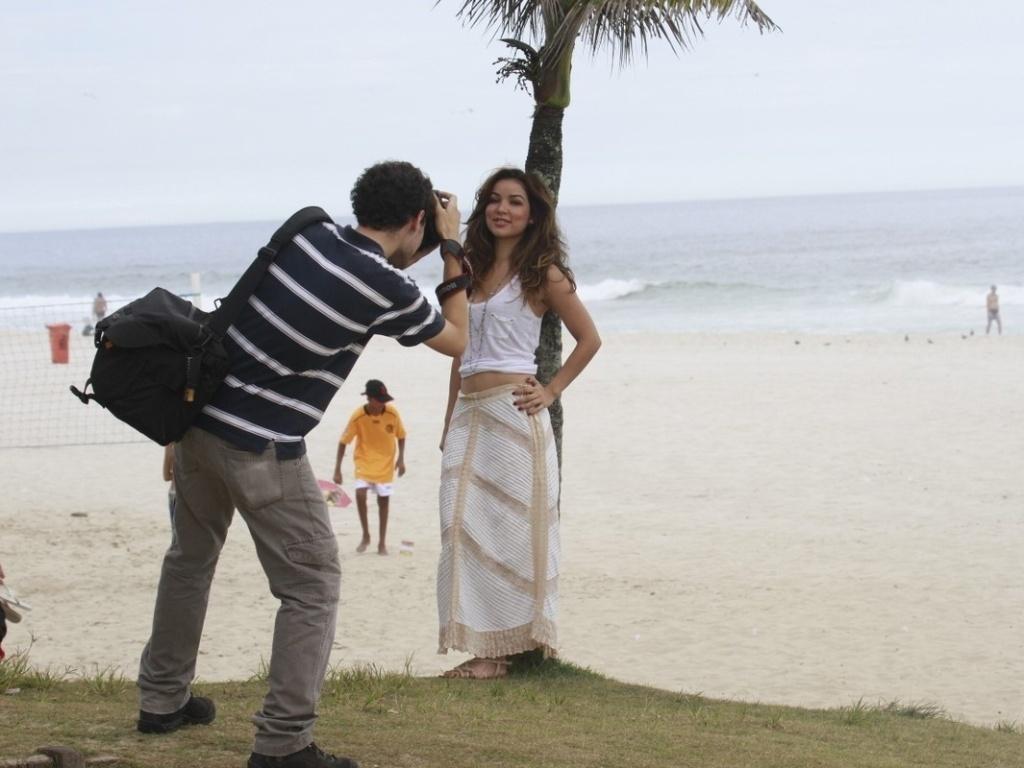 17.dez.2012 - A cantora Liah Soares, ex-participante do programa