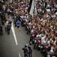 Festa corintiana pelas ruas de SP gera pouca lentidão no trânsito da cidade
