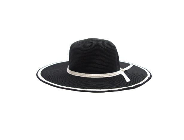Chapéu preto e branco