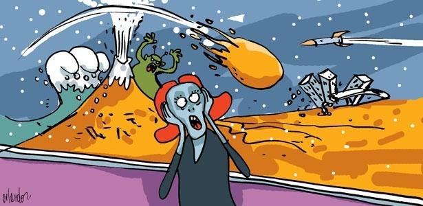 Teorias catastróficas afirmam que terremotos, tsunamis e erupções vulcânicas vão acabar com a Terra