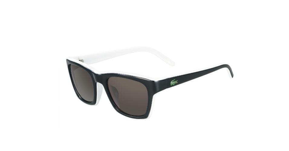 Óculos masculinos bicolores