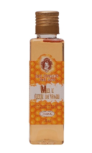 Óleo espumante para banho com óleo de amêndoas e extrato natural de mel, R$ 39,90, da Tiena (www.tiena.com.br). Preços consultados em dezembro de 2012 e sujeitos a alterações.