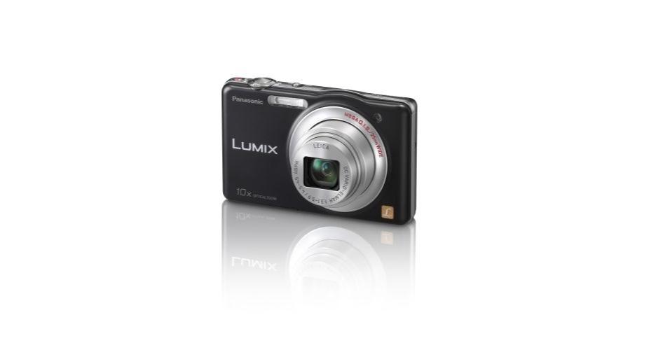 19.dez.2012 - A Panasonic Lumix DMC-SZ1 possui 16.1 megapixels, zoom digital 4x, possui boa qualidade de foto, recursos de maquiagem, foto panorâmica, cartão SD grátis e pode ser recarregada no computador. O equipamento diminui os megapixels das imagens dependendo do recurso que utiliza na foto. Preço sugerido R$ 500