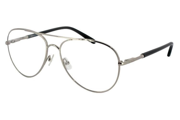 Armação para óculos de grau Sicily Nickel. R$ 269, da HB (www.hb.com.br). Preços consultados em dezembro de 2012 e sujeitos a alterações
