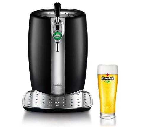 Barril para cinco litros de cerveja Beertender. R$ 599,99, da Krups (www.krups.com.br.). Preços consultados em dezembro de 2012 e sujeitos a alterações