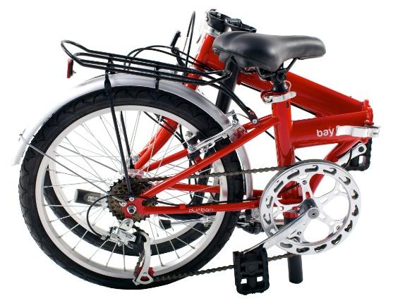 Bicicleta dobrável modelo ?bay 6?. R$ 1.099, da Durban (www.durbanbikes.com). Preços consultados em dezembro de 2012 e sujeitos a alterações