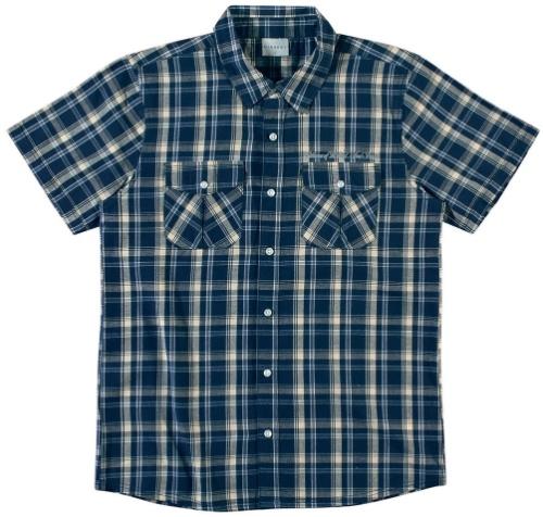 Camisa xadrez masculina manga curta. 69,90, da Mineral (SAC: 0800-8882600). Preços consultados em dezembro de 2012 e sujeitos a alterações