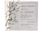 Convites para casamentos no campo usam a natureza como inspiração - Divulgação/Papel & Estilo