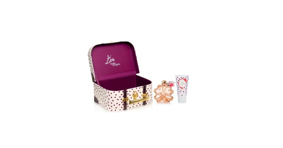 Kit de viagem Chic Paris com perfume Si Lolita