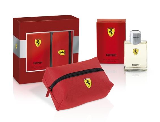Kit Ferrari Red Audácia com fragrância e nécessaire. R$ 249,90, da Ferrari (www.frajo.com.br). Preços consultados em dezembro de 2012 e sujeitos a alterações