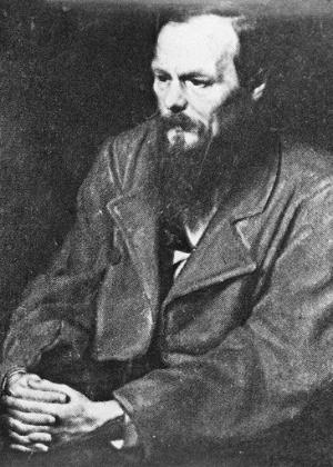 O escritor russo Fiódor Dostoiévski