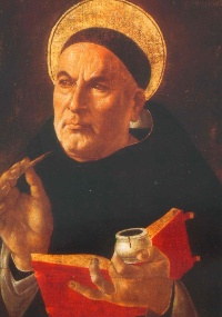 Tomás de Aquino sustenta que nada está na inteligência que não tenha estado antes nos sentidos
