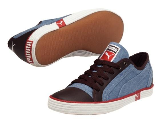 Tênis com jeans. R$ 209,90, da Puma (SAC: 0800-7733900). Preços consultados em dezembro de 2012 e sujeitos a alterações