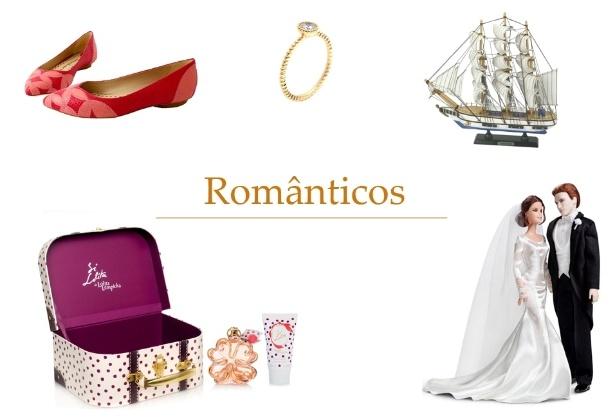 Veja dicas de presentes para os românticos