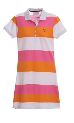 Vestido de piquet listrado, R$ 135, da Aleatory (www.aleatory.com.br). Preços consultados em dezembro de 2012 e sujeitos a alterações
