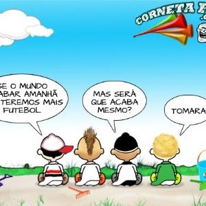 Corneta FC: Clubes paulistas demonstram preocupação com o fim do mundo