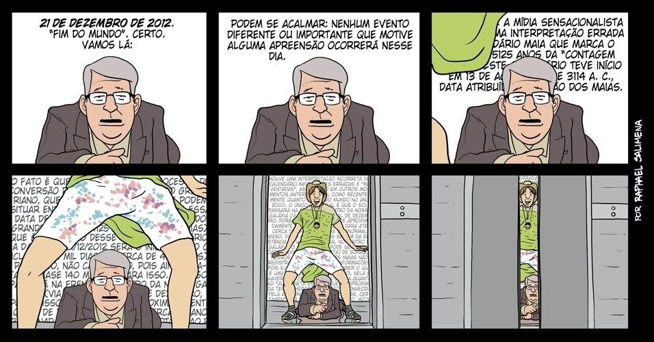 &#39;&#39;Feliz 21 de dezembro de 2012&#39;&#39; - 21/12/2012 humor