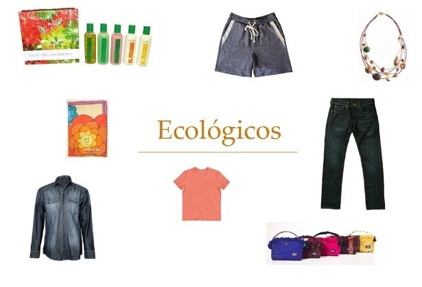 Montagem presentes para ecológicos