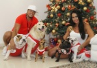 Famosos celebram o Natal