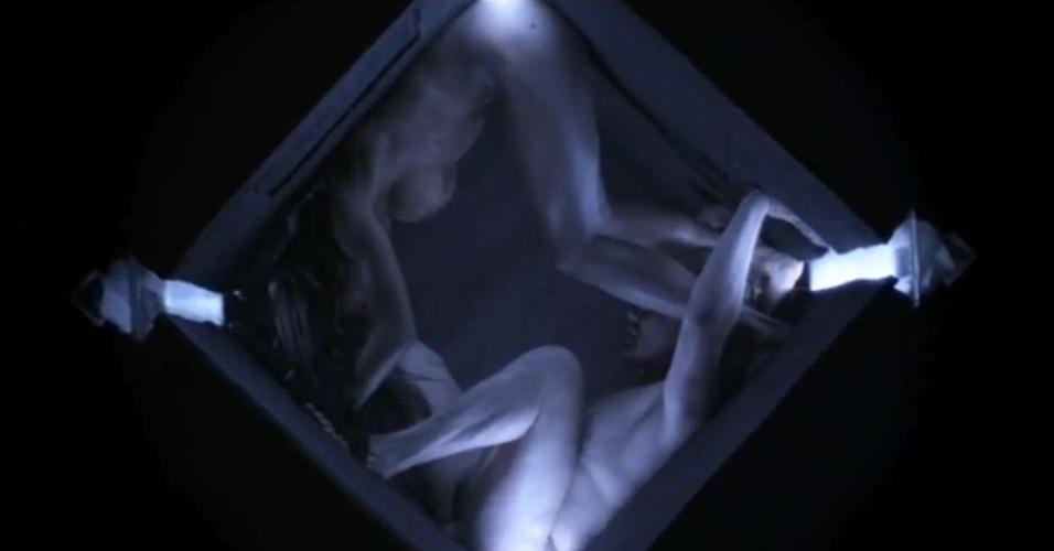 """Daniel Bedingfield no vídeo de ?Secret Fear"""""""