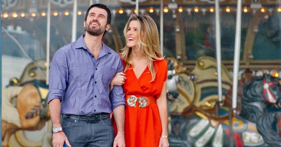 Eriberto Leão e Ingrid Guimães em cena de