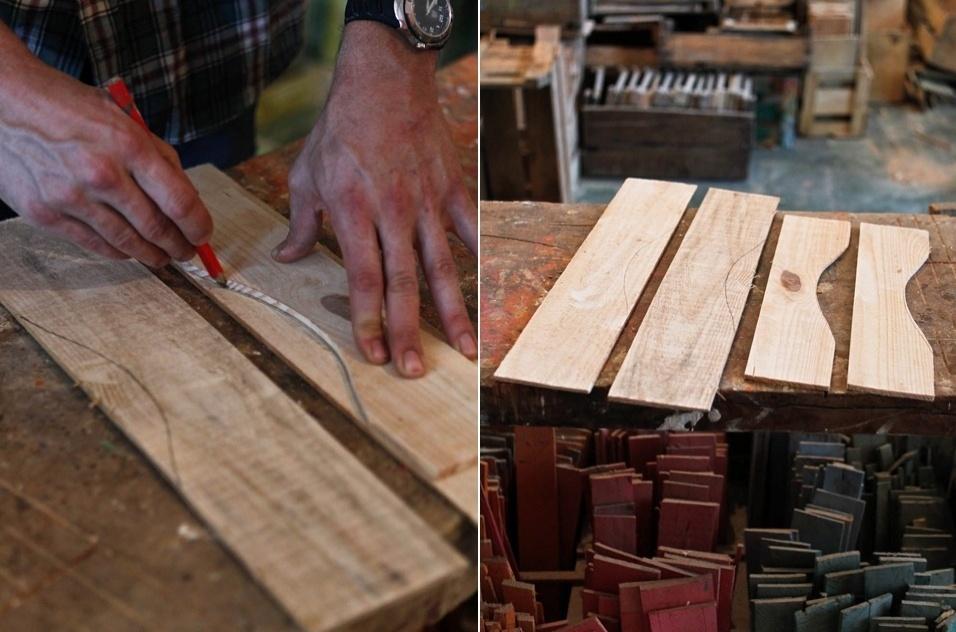 Passo a passo: gaveteiro com caixotes de madeira