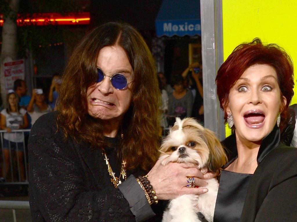 1.out.2012 - Ozzy Osbourne e Sharon Osbourne na première de