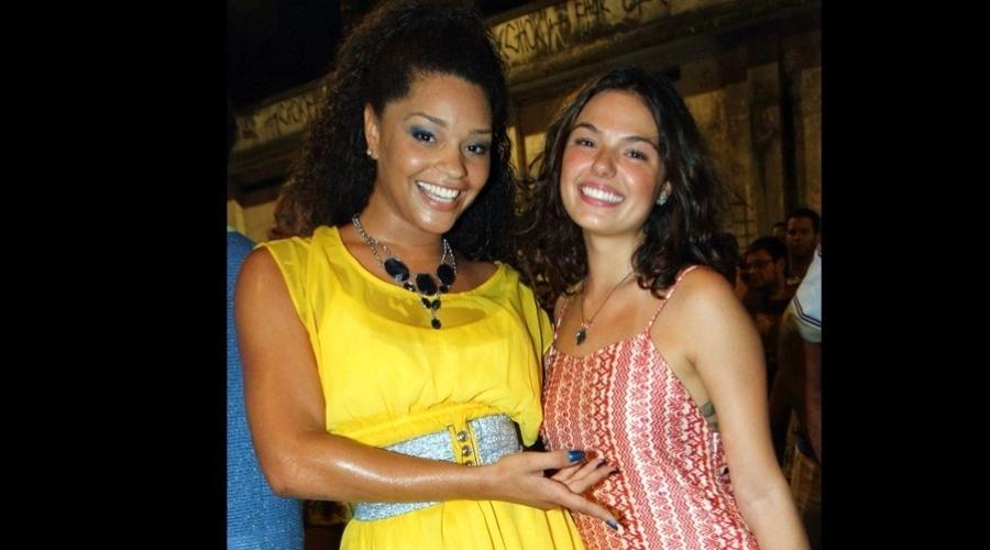 27.dez.2012 - Isis Valverde gravou uma participação para o programa