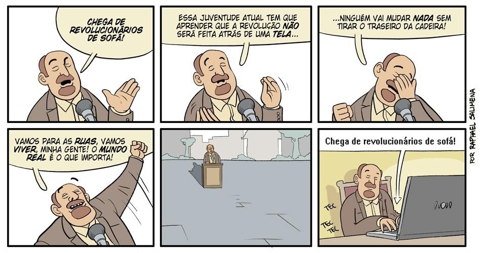 """""""Revolucionários de sofá"""" - 29/12/2012"""