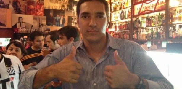 Alberto ficou conhecido pelo belo gol de bicicleta marcado contra o Corinthians