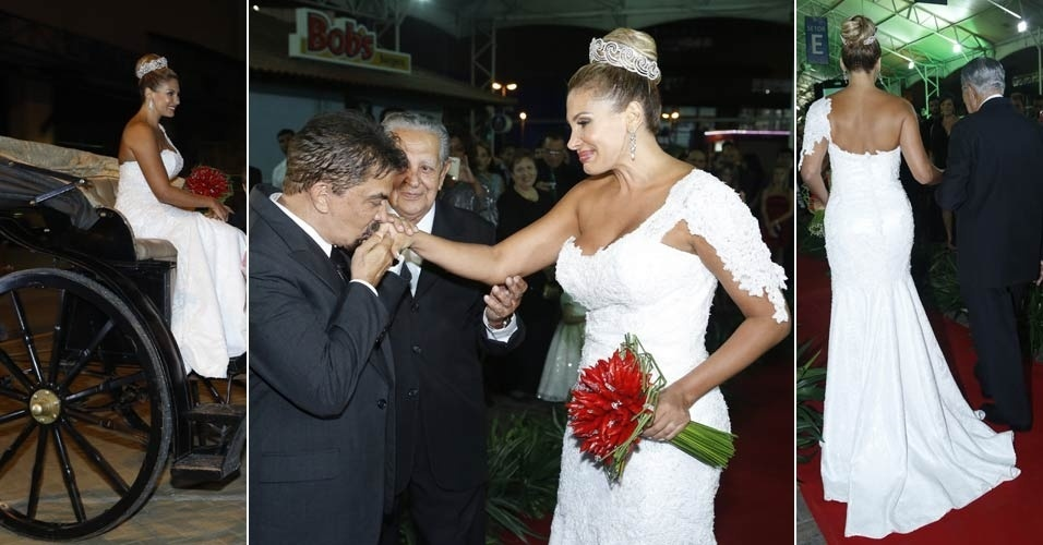 (29.dez.2012) casamento de ngela Bismarchi e Wagner de Moraes no Rio