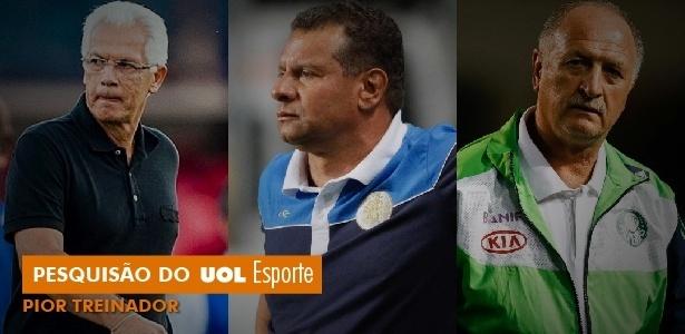Jogadores elegem Emerson Leão o pior técnico em pesquisão do UOL Esporte