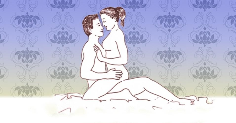 massagem sensual - mulher faz a massagem 2