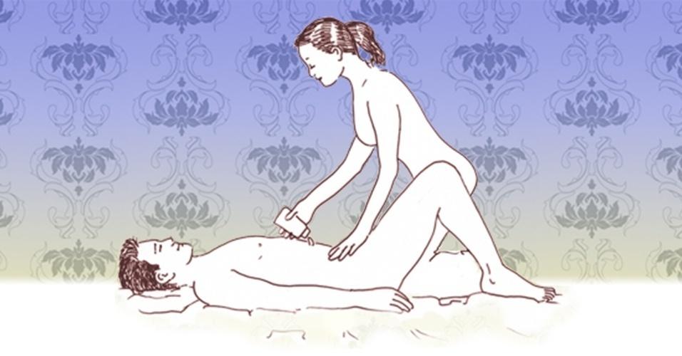 massagem sensual - mulher faz a massagem 4