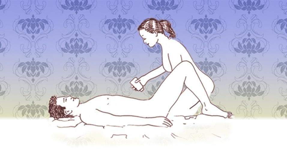 massagem sensual - mulher faz a massagem 7