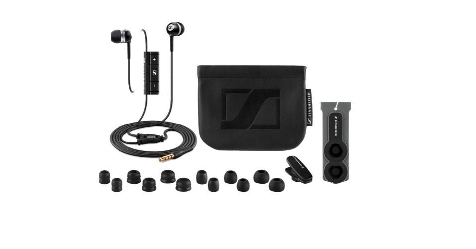 2º.jan.2013 - O fone de ouvido Sennheiser Headset MM70i tem preço sugerido de R$ 490, acompanha acessórios como bolsinha, prendedor, borrachinhas auriculares sobressalentes e traquitana porta-fone, tem isolamento acústico de ponta e excelente qualidade áudio